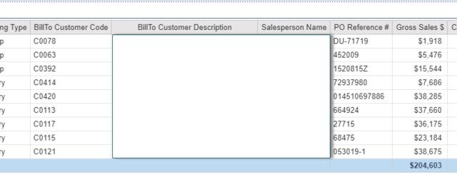 SAP B1 QuickStart Delivery module report