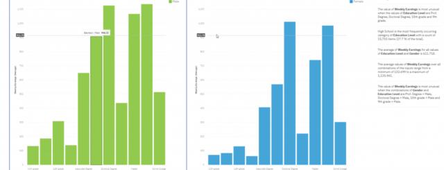 Cognos 11.1.3 report comparison