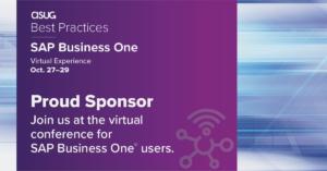 ASUG Best Practices Proud Sponsor 2020